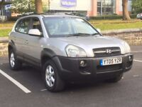 2005 HYUNDAI TUCSON 2.0 PETROL * 4WD * LEATHER * 1 YEAR MOT * PART EXCHANGE WELCOME * DELIVERY *