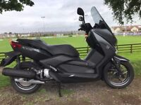 2016 YAMAHA XMAX 125 TOP OF THE RANGE SCOOTER -FINANCE AVAILABLE -SPOTLESS £2699
