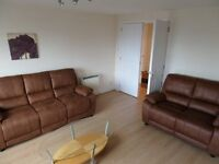Bright Spacious fully furnished 2 bedroom city centre flat for rent