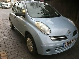 NISSAN MICRA 1.2 2006 BEAUTIFUL CAR DRIVES A1 COMES WITH NEARLY FULL TANK WILL LAST A MONTH