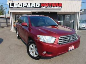 2008 Toyota Highlander 7Passenger, Awd, Camera*No Accident*