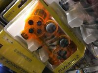 PS2 Dual Shock Controller - Orange