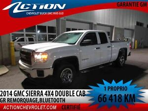 2014 GMC SIERRA 1500 4WD DOUBLE CAB GROUPE REMORQUAGE,BLUETOOTH