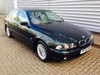 BMW e39 530i in stunning condition full BMW service history 1 years mot no advisories