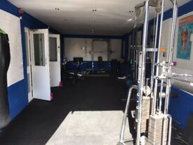 Gym facilities/Personal training space/Massage room