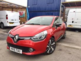 RENAULT CLIO DYNAMIQUE 0.9, 2015 **TOP SPEC**SAT NAV**LOW MILEAGE**NEW M.O.T**LOVELY CAR**BARGAIN!!