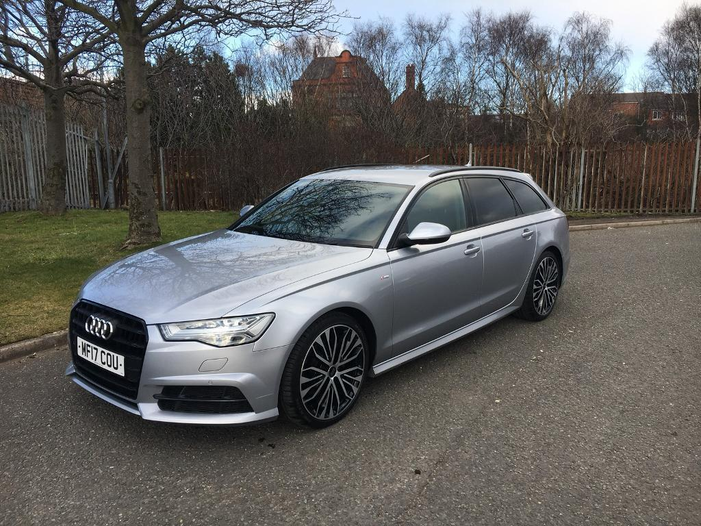 Who Has The Cheapest Auto Insurance >> 2017/17 Audi A6 S-LINE BLACK EDITION AVANT 2.0TDI ULTRA 190 PS AUTO CHEAPEST IN UK BRAND NEW ...