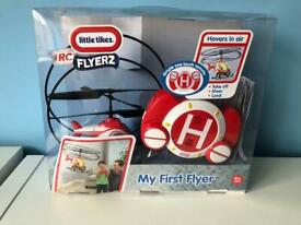 Little tikes first RC flyer with box and instructions.