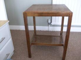 Vintage TV table