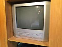 TV with built in DVD & VCR