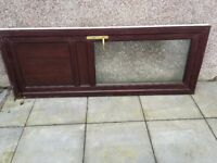 Used Back door with 3 keys - white - CR Smith