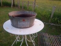 Labatts beer ice bucket cooler