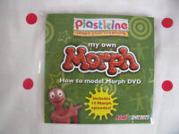 Un-used Plasticine How to model Morph DVD including 15 Morph episodes. Happy to post. £1.