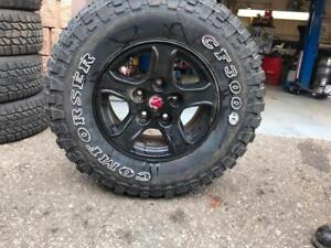 265-75-16 LT | Dodge Ram Set Of 4 Rims/ 4 Tires | Great Condition