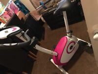 Exercise Bike - Davina McCall Pink
