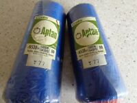 apt overlock thread royal blue 2 new and 4 partly used all on 5000 meter cones