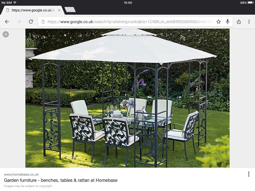 Brand new Homebase garden furniture in Plymouth Devon