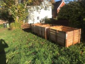 FREE!!! Solid wooden crates