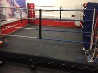Boxing ring 12ft low partform