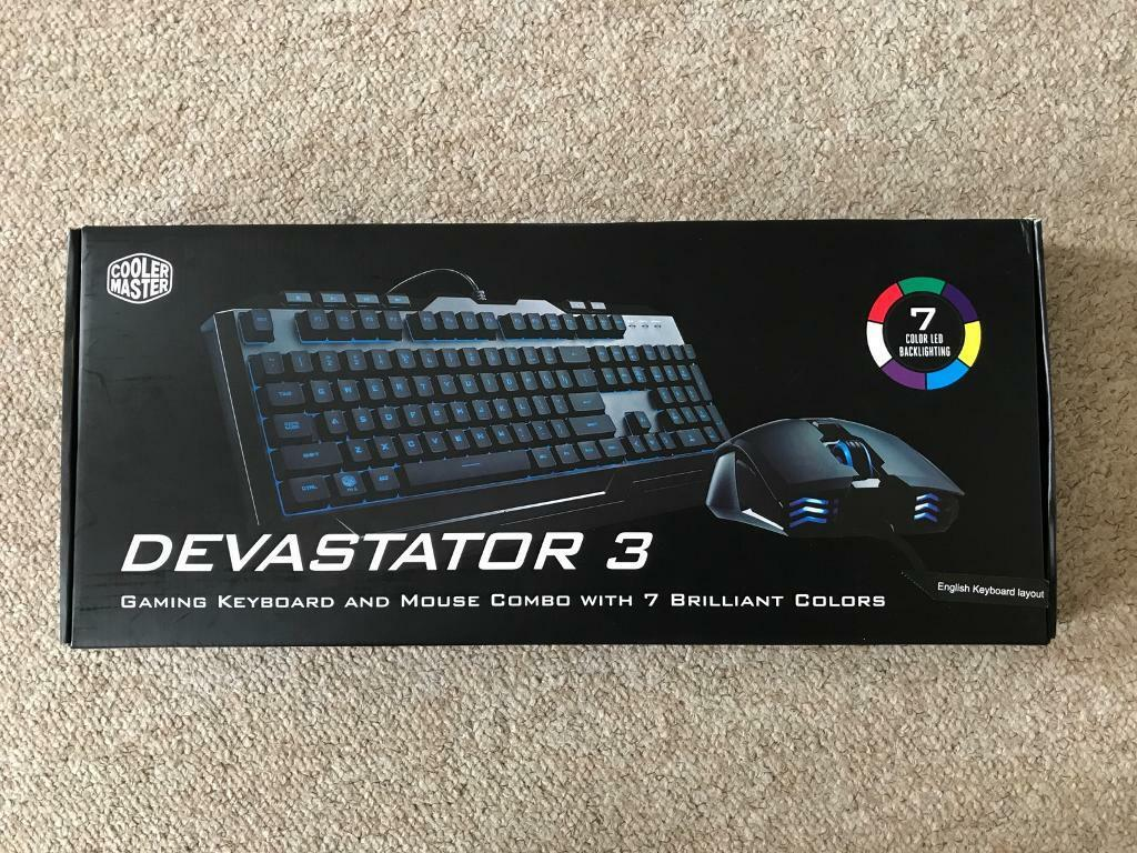 7ddb443f730 Cooler Master Devastator 3 USB LED keyboard and mouse | in ...