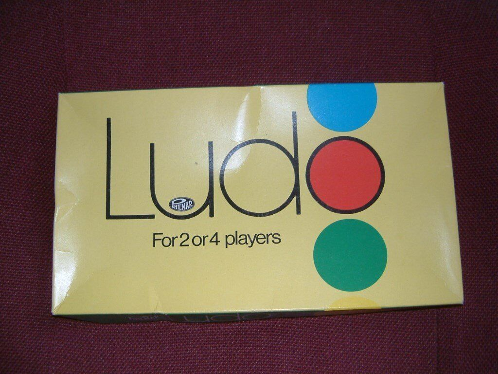Sale Ludo Dice Game by Philmar, believe to date back to the 1970's. In clean condition, complete.