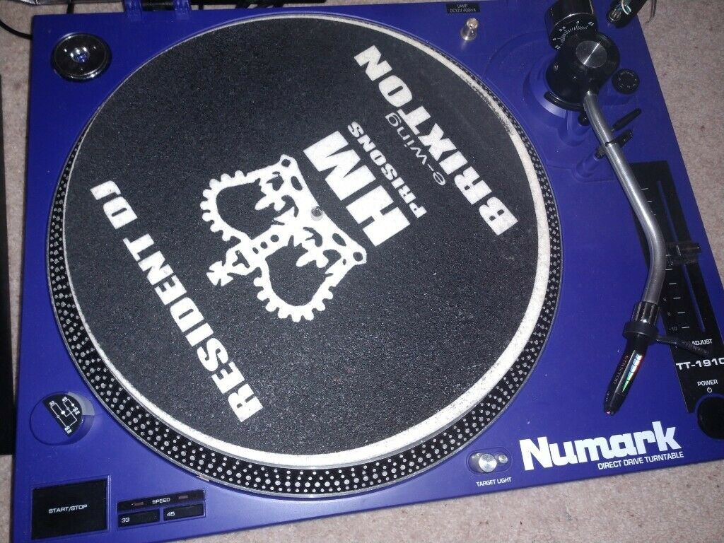 2x Numark turntable decks with Stanton Trackmaster cartridges & Mixer for  sale | in Cambuslang, Glasgow | Gumtree