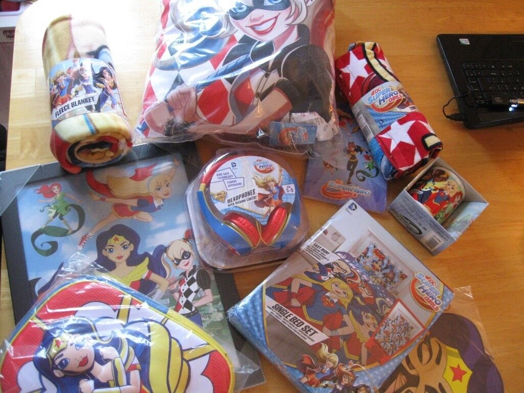 NEW /& SEALED DC Super Hero Girls Single Duvet Set