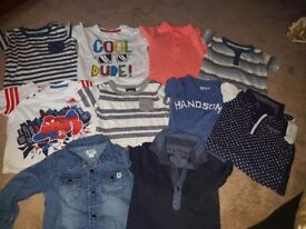 Boys tops 3 to 6 months