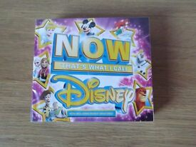 NOW That's What I Call Disney - 4 Disc CD Set- New