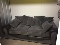 3 piece suite for sale, 2 x 3 seater couches and swivel chair. Excellent condition.