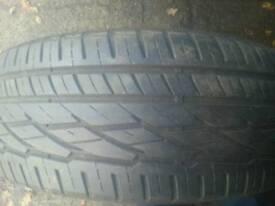 General grabber 255/60/18 tyre