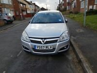 2007 Vauxhall Astra elite automatic, silver, 78000 mileage, Services hist. New Mot till March 2019