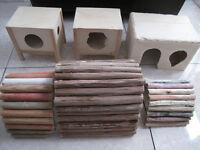 Small animal houses/tunnels