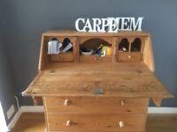 Pine bureau / writing desk