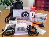 Canon EOS Digital SLR Camera bundle in Excellent condition, boxes & manuals included.