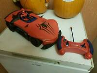 SPIDERMAN FULL FUNCTION REMOTE CONTROL CAR.