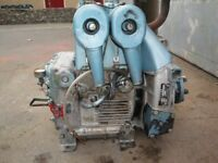 Petter. Lister/Petter Engine. BA2. 20hp motor. Water pump included.