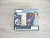 CANON IXUS 145, 16 Mega Pixels, 8 x Zoom Digital Camera, Complete in Box, Immaculate Condition.