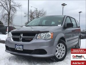 2015 Dodge Grand Caravan CANADIAN VALUE PACKAGE**STOW AND GO**PO
