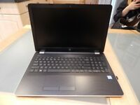 HP Silk Gold 15.6 Inch Laptop - Excellent to like new condition - Upgraded ram and ssd