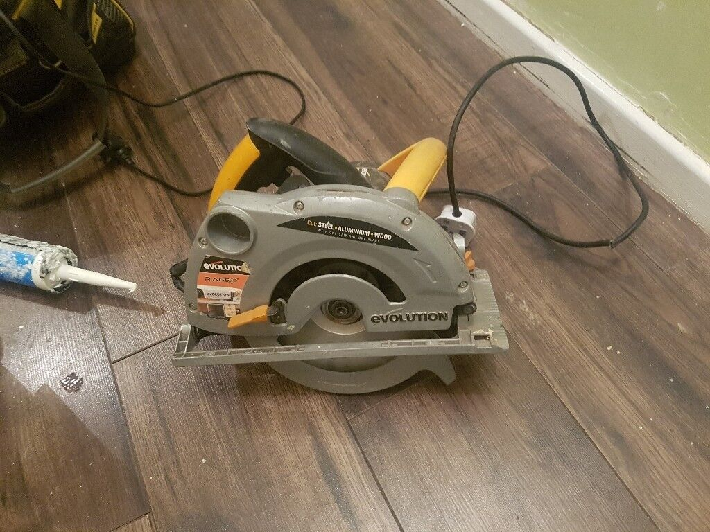 Circular saw rip saw evolution rage