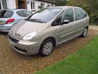 SUPERB PICASSO 1.6, ECONOMICAL MPV, LOW MILEAGE, 50 MPG, UNMARKED, LONG MOT, PART-EXCHANGE WELCOME