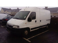 Fiat Ducato 2.8 jtd Lwb hi top spares or repairs