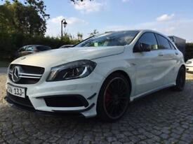 Mercedes A Class A45 AMG Auto 4WD Only 6500 miles in MINT condition Fully loaded with MEGA OPTIONS