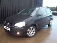 2008 Volkswagen Polo 1.2 Match 3dr Good Spec Alloy Wheels Electric Mirrors Low Mileage May Px