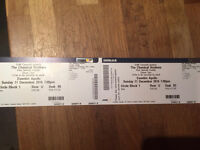 I have 2 tickets in my hand ready to post recorded delivery for Chemical Brothers 11th Dec