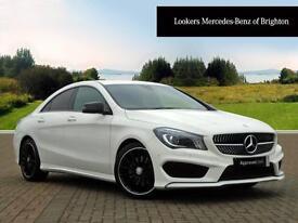 Mercedes-Benz CLA CLA220 CDI AMG SPORT (white) 2016-10-21