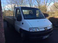 Peugeot 2.8d Dropside Truck