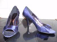 Phase Eight Olivia Peep Toe Shoes Size 5 RRP £89
