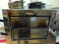 Italiforni double teir pizza oven